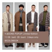 Y.&SONS POPUP Limited Edition