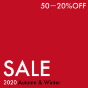 2020 Autumn & Winter SALE