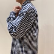 Porter Classic (ポータークラシック) / ROLL UP GINGHAM CHECK SHIRT 21SS
