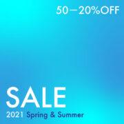 2021 SPRING & SUMMER セール