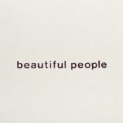 beautiful people ロゴシリーズ